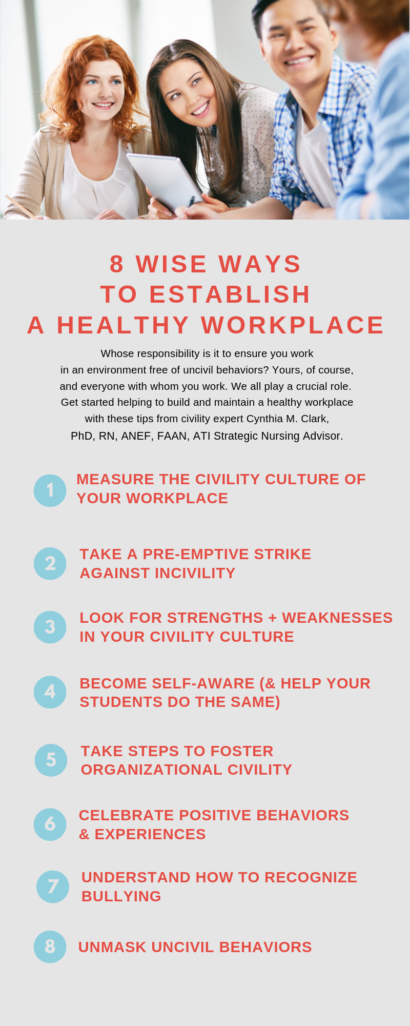 8 Wise Ways to Establish a Healthy Workplace