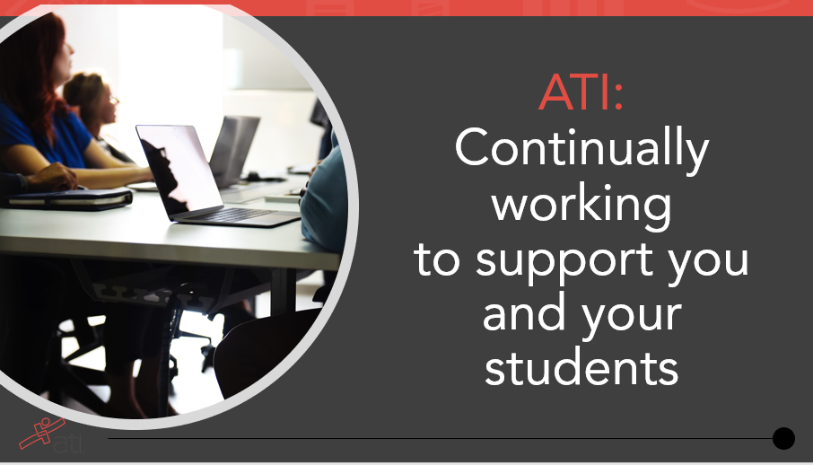 ATI is continually working to support you and your students to prepare for the Next Generation NCLEX