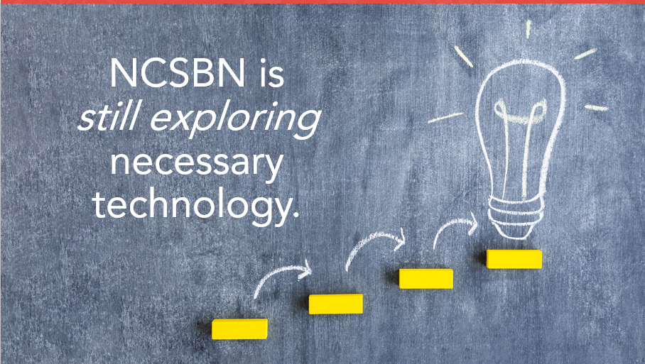 NCSBN is still exploring necessary technology to support new item types to be used in Next Generation NCLEX