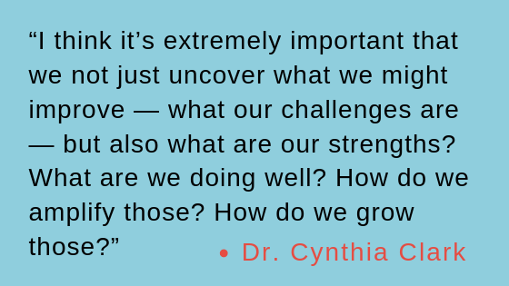 Quote by Dr. Cynthia Clark