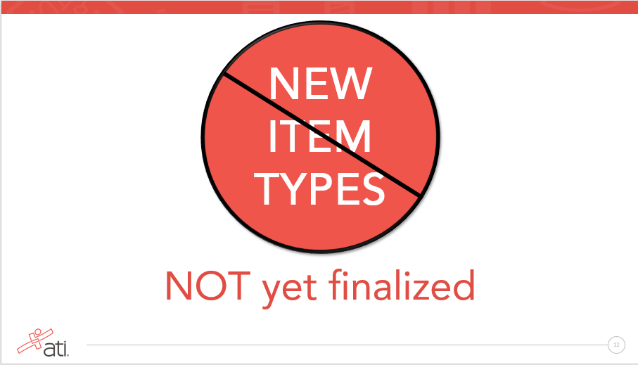 No new item types have been finalized by NCSBN for Next Generation NCLEX