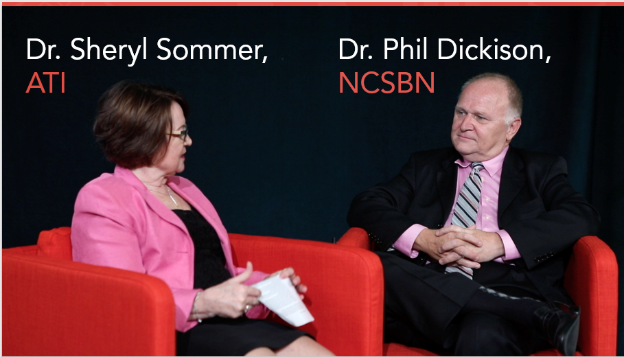 Sheryl Sommer, ATI, and Phil Dickison, NCSBN, discuss Next Generation (NGN) NCLEX